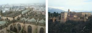 vista alhambra e alcazar