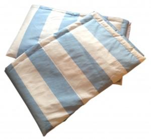 manta azul e branco